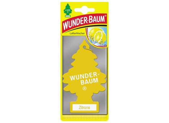 Wunderbaum Zitrone - Gelb, MODERN, Karton (8/20/0,5cm) - Wunderbaum