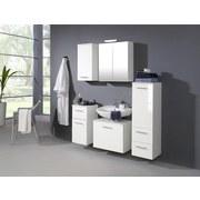 Midischrank Blanco B: 35cm, Weiß - Weiß, MODERN, Holzwerkstoff (35/114/35cm)