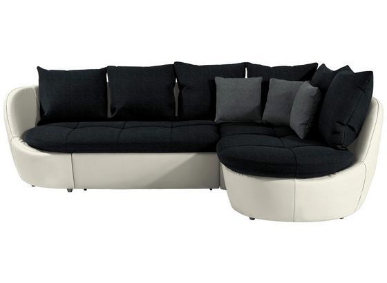 Sedací Souprava S Rozkladem Florida - šedá/bílá, Moderní, textil (280/192cm) - Luca Bessoni