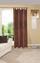 Kombivorhang Mara - Braun, KONVENTIONELL, Textil (140/255cm) - Ombra