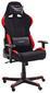 Gamingstuhl DX Racer 1 Schwarz/rot - Rot/Schwarz, MODERN, Kunststoff/Textil (78/123-132/52cm) - Dxracer