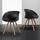 Židle Emely - černá/barvy buku, Moderní, kov/dřevo (56/78/50,5cm) - Modern Living