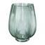 Vase Leaves - Grün, Natur, Glas (20/25cm)