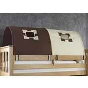 Tunnelset 2er Beige/braun - Beige/Braun, Design, Textil (180/13/16cm)