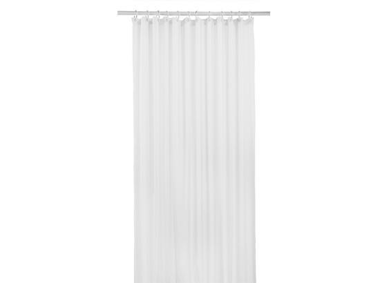 Záves Do Sprchovacieho Kúta Uni - biela, textil (180/200cm) - Mömax modern living