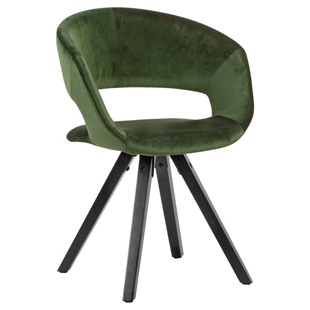 Židle s Opěrkou Armlehnstuhl Zelená