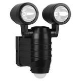 LED-Sicherheitsleuchte Fsl-80113 - Schwarz, MODERN, Kunststoff (14,5/19,5/10,5cm)
