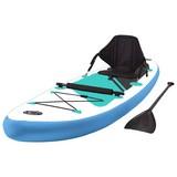 Stand-Up Paddle Board Vaiana - Blau, MODERN, Kunststoff/Metall (290/76/15cm) - Luca Bessoni
