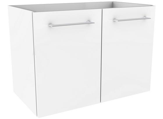 Waschtischunterschrank Lima B:60cm Weiß - Weiß, MODERN, Holzwerkstoff (60/42/35cm) - Fackelmann
