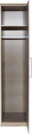 Kleiderschrank Wien 47cm - Eichefarben/Weiß, KONVENTIONELL, Holzwerkstoff (47/212/56cm)