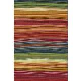 Webteppich Mo 140x200 - Multicolor, MODERN, Textil (140/200cm)