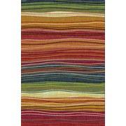 Webteppich Mo 60x110 - Multicolor, MODERN, Textil (60/110cm)