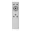 Stropní Led Svítidlo Ross Ø 70cm, 30 Watt - bílá/opál, Romantický / Rustikální, kov/umělá hmota (70/8cm) - Premium Living