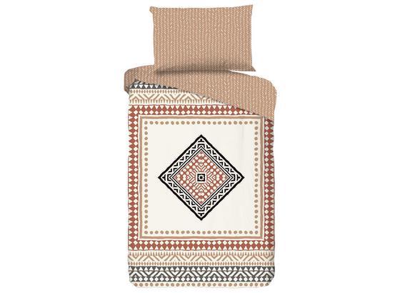 Wendebettwäsche Tiznit - Creme, MODERN, Textil