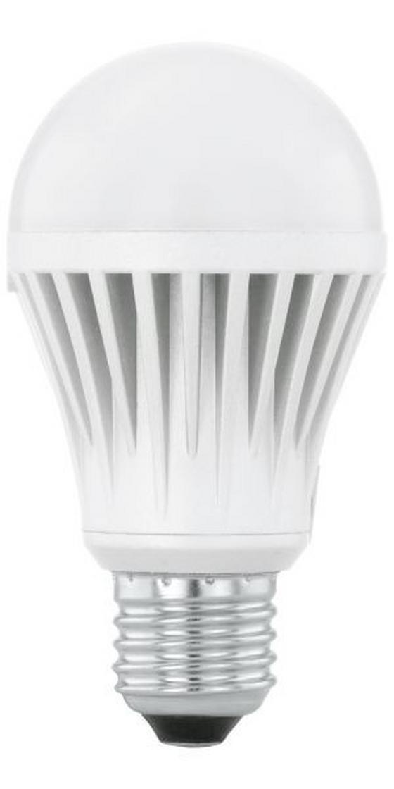 LED Leuchtmittel Lucy, 1055 lm, E27, A+ - Silberfarben/Weiß, KONVENTIONELL (11cm)