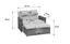 Multifunktions-loungesofa Bahia Twin Aus Polyrattan - Sandfarben/Grau, KONVENTIONELL, Kunststoff/Metall (121/84/180cm) - Greemotion