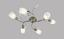 Spotrondel Sana - Messingfarben, MODERN, Glas/Kunststoff (80/47/17cm)