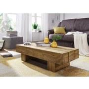 Couchtisch Holz Massiv Sira, Akazie - Akaziefarben, Design, Holz (120/45/30cm) - Livetastic