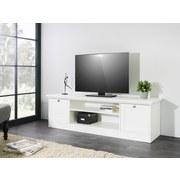 Lowboard E-Landwood 17 - Weiß, ROMANTIK / LANDHAUS, Holzwerkstoff (160/48/45cm) - Carryhome