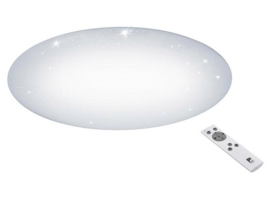 LED-Deckenleuchte Giron-s - Weiß, MODERN, Kunststoff/Metall (76/8,5cm)