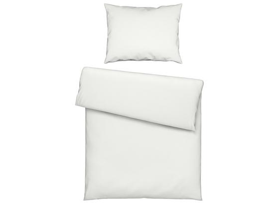 Posteľná Bielizeň Iris - biela, textil (140/200cm) - Modern Living