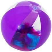 Wasserball Flirty Feather - Lila, KONVENTIONELL, Kunststoff (28/28cm) - Bestway