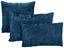 Zierkissen Petra 30x48 cm - Blau/Beige, KONVENTIONELL, Textil (30/48cm) - Ombra