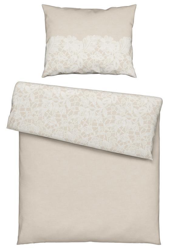 Povlečení Evelin -ext- - šedá, Romantický / Rustikální, textil (140/200cm) - Mömax modern living