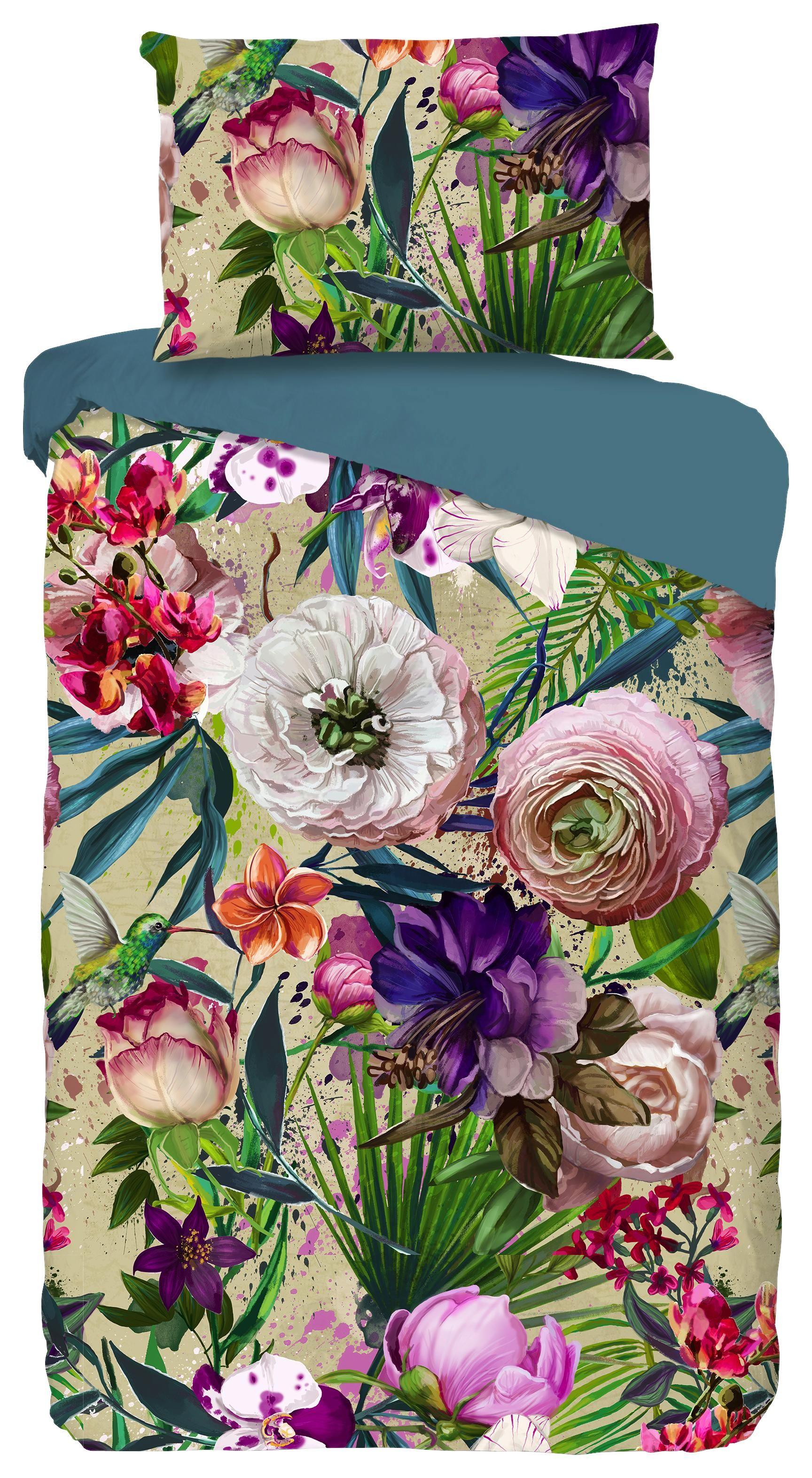 Wendebettwäsche Tropical - Multicolor, MODERN, Textil