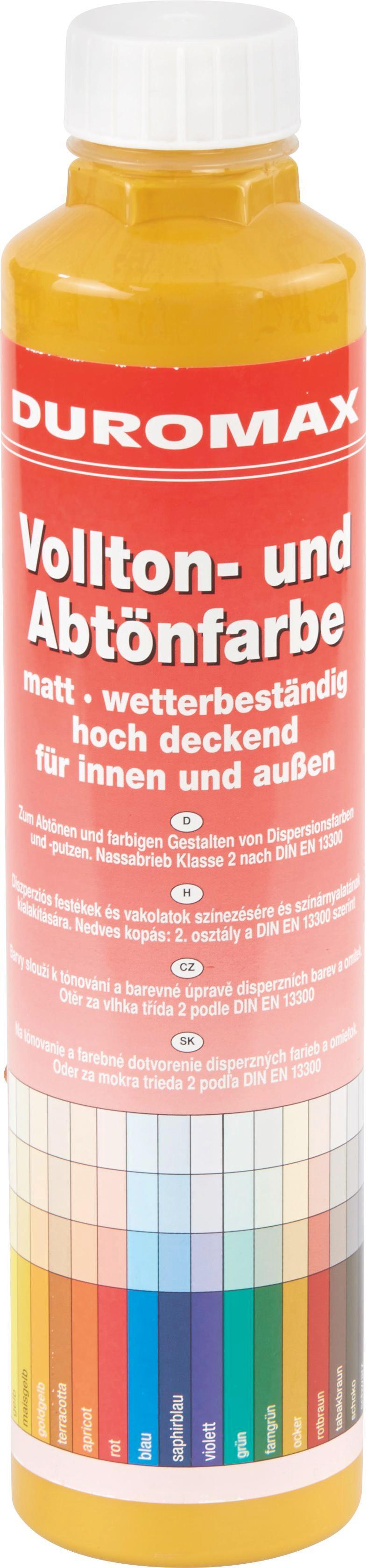 Abtönfarbe Ocker Matt - KONVENTIONELL (0,75l)
