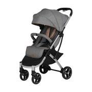 Buggy X-Easy-Fold Melange/Grau Geeignet F. Kinder Bis 15kg - Silberfarben/Grau, Basics, Textil/Metall (51/103/62cm) - Knorr