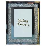 Bilderrahmen Memories - Silberfarben, MODERN, Glas (18/23/1cm) - Luca Bessoni