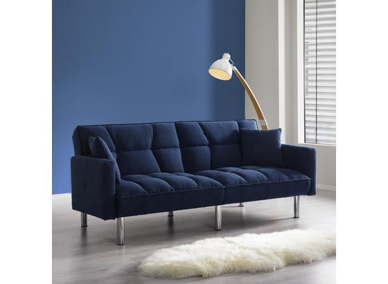 Pohovka S Rozkladem Jara - modrá, Moderný, drevo/textil (195/82/87cm) - Mömax modern living