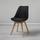 Jídelní Židle Rocksi - černá/barvy buku, Moderní, dřevo/textil (48/82,5/43cm) - Modern Living