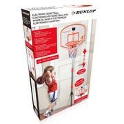 Basketballset Dunlop Sport Light&sound - Rot/Orange, Basics, Kunststoff (12/49/38cm)