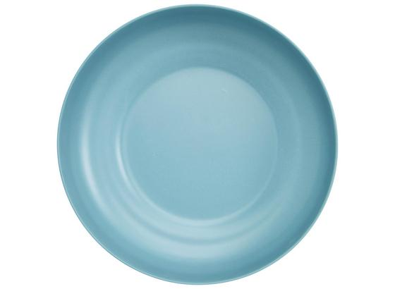 Miska Anabel - L - modrá, Natur, kompozitné drevo/plast (25,4/6,8cm) - Zandiara