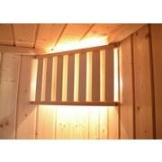 Saunaleuchten-Set Spezial - Fichtefarben, MODERN, Holz (23/45cm)