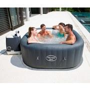 Whirlpool Aufblasbar Lay-Z-Spa Hawaii Pro 180x180x71cm 54138 - Dunkelgrau, Kunststoff (180/180/71cm) - Bestway