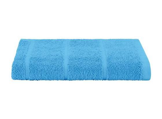 Badetuch Liliane - Blau, KONVENTIONELL, Textil (100/150cm) - Ombra