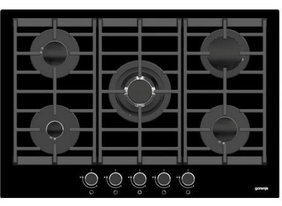 Plynová Varná Doska Gtw 751 Ub - čierna, Moderný, kov (72/7,3/48cm) - Gorenje