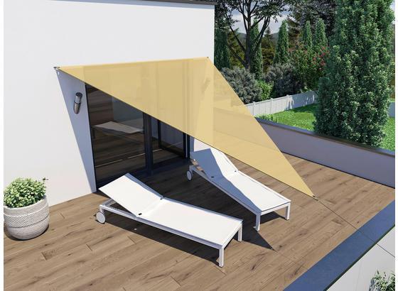 sonnensegel dreieck 4x4x3 m online kaufen m belix. Black Bedroom Furniture Sets. Home Design Ideas