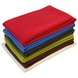 Polár Pléd Tina - Piros/Zöld, konvencionális, Textil (130/160cm) - Ombra