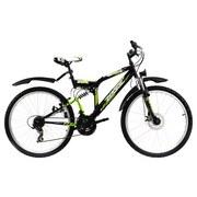 Mountainbike Mtb Atb Fully 26'' Zodiac 575m - Basics, Metall (180/70/100cm)