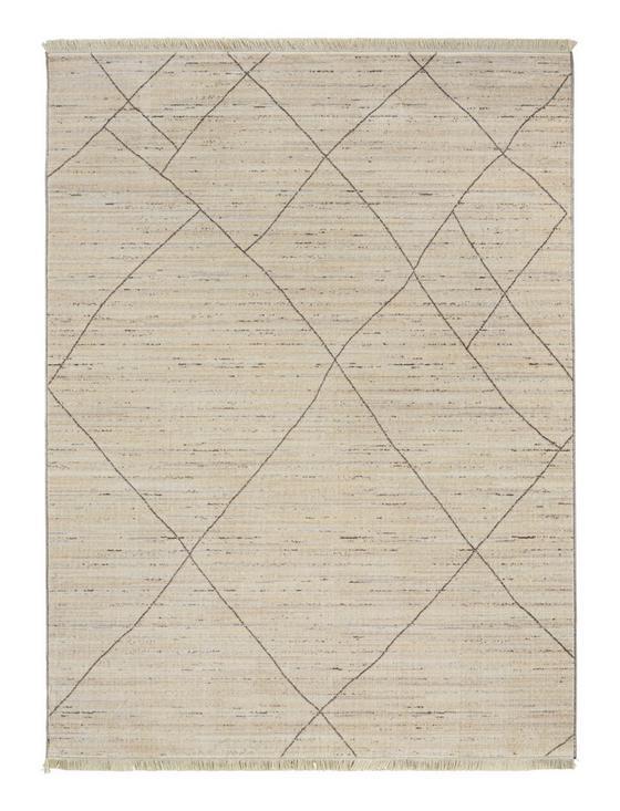 Koberec Tkaný Prestige 1 - šedá/krémová, textil (80/140cm) - Mömax modern living