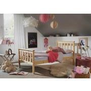 Kinder-/Juniorbett Kiefer Massiv 80x160 cm - Braun/Kieferfarben, Basics, Holz (80/160cm) - Carryhome