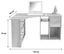 Rohový Psací Stůl Gemo Fu Pc 56 - bílá, Moderní, kompozitní dřevo (135/74,2/95cm) - Sonne