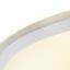 Led Stropní Svítidlo Optima - kov/umělá hmota (80/10cm)