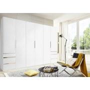 Drehtürenschrank mit Schubladen 300cm Level 36a, Weiß Dekor - Weiß, MODERN, Holzwerkstoff (300/216/58cm) - MID.YOU