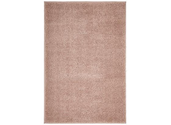 Koberec S Vysokým Vlasom Bono 60x100cm - ružová, Konvenčný, textil (60/100cm) - Based