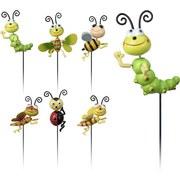 Gartenstecker Insektenfreunde - Multicolor, Basics, Metall (59,5cm)